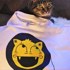 IDL Cat-face t-shirt